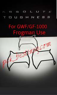 Custom Bull Bar For G Shock Frogman Gwf/Gf-1000 Compatible. Note Selling Bull Bars Not Full Watch.