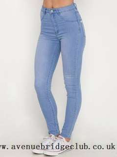 Ava and Ever Jeggings Blue high waisted
