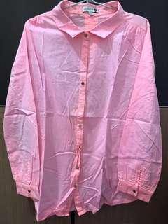 COTTON ON pink neon shirt