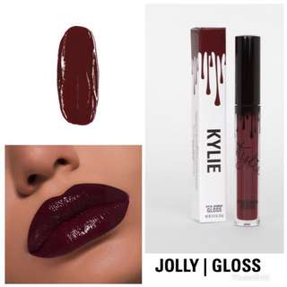 KYLIE cosmetics jolly gloss holiday collection