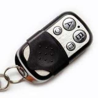 476. 6pcs Electric Cloning Universal Gate Garage Door Opener Remote Control Fob