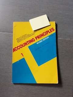 Accounting Principles 1