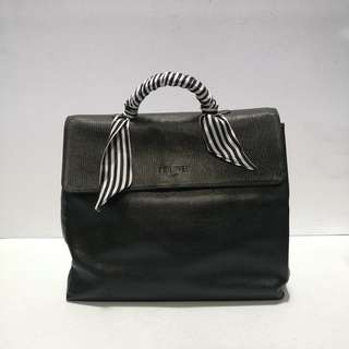 Authentic Vintage Loewe Leather Handbag