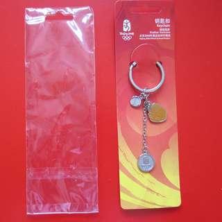 2008 北京奧運紀念品 棒球匙扣