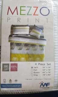 Twin size bed cover