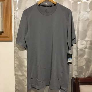 Nike basketball gray long tee