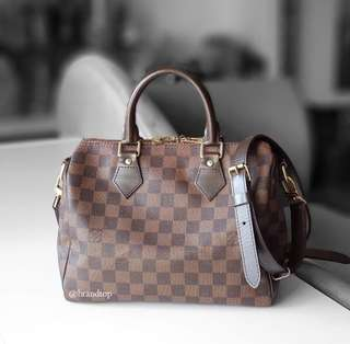 Authentic Louis Vuitton Speedy B 25 LV