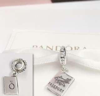 Pandora Passport Charms