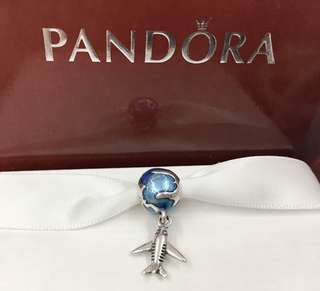 Pandora Airplane Charms