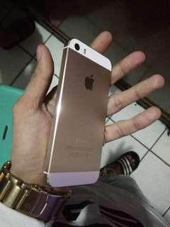 IPHONE 5s 16gb smartlock rose gold
