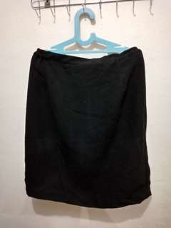 Rok hitam basic big size