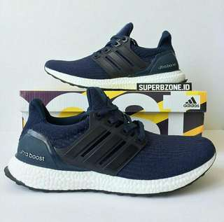 Adidas Ultraboost 3.0 Navy white
