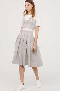 H&M Skirt Bustier Set