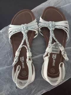 Smart fit white sandals 13 1/2