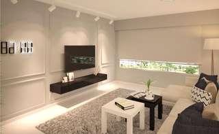3D visualisation for interior design