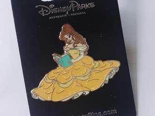 [交換優先] 迪士尼 美女與野獸 貝兒 pin
