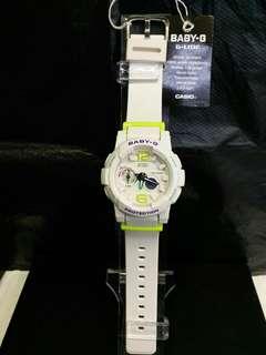 "BGA-180-7B2卡西歐品牌手錶""Casio""""Baby-G""日本機芯一年保養"