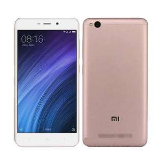 Kredit Xiaomi Redmi 4A Smartphone 2/16GB Rose Gold