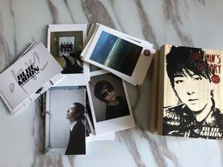 Cnblue mini photo cards - bluemoon 李正信設計限量版