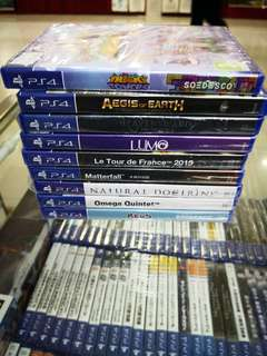 Ps4 Games each RM59 new and sealed free postage 0124140307 WhatsApp now got discount 6 %until 7th June 2018