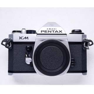 Pentax KM fully mechanical SLR film camera