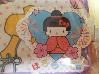 Sanrio Heel Kitty 銀包連公仔吊飾   郵寄貨品包平郵