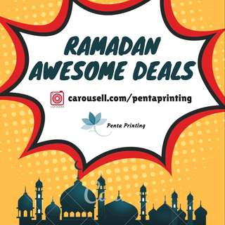 RAMADAN AWESOME DEALS