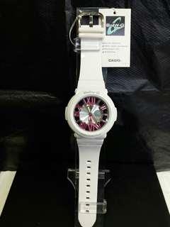 "BGA-160-7B2卡西歐品牌手錶""Casio""""Baby-G""日本機芯一年保養"