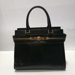 Mook Leather Two-way Structured Bag