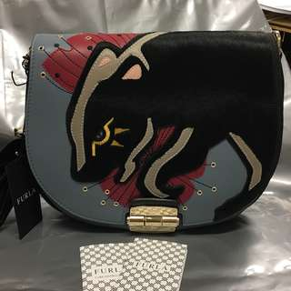 Brand New Furla Club S Crossbody Dolomia