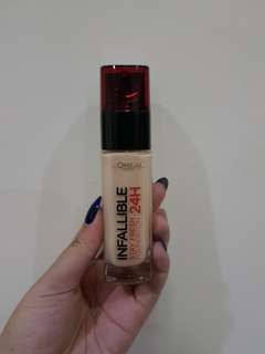 L'oreal Infallible 24H Foundation Stay Fresh