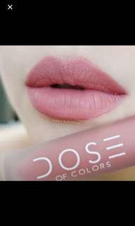 Dose of Colors liquid matte lipstick - Bare With Me
