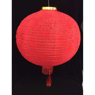 (Rent) Red Hanging Lantern Decorations