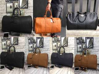 LV Fendi Gucci Travel Bag