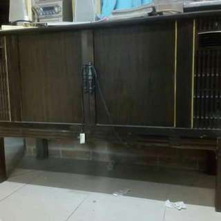 TV Sharp Kayu Lama