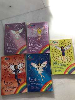 Rainbow magicX5 books