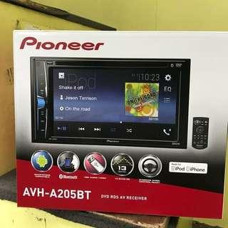 Promotion offer pioneer Car Audio AVH-A205BT