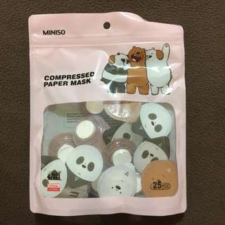 Miniso Compressed Paper Mask