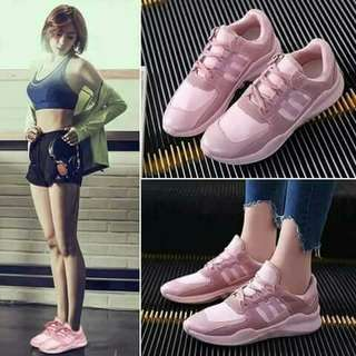 Kawaii Pink Rubber Shoes