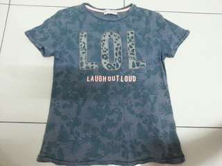 Zara Boys T-Shirt Size 7/8