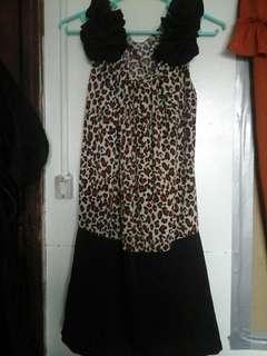 Leopard Styled Dress