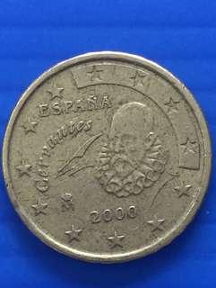Euro 10 cent , Y2000