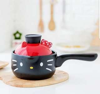 日本限定♡Hello Kitty手柄煮麵砂鍋♡