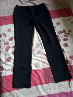 Osmose black soft pants/slacks