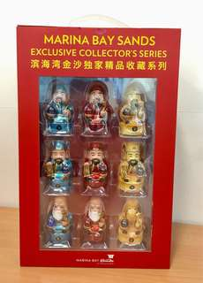 MBS Limited Edition - Fu Lu Shou Collectible Fingering Complete Set