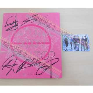 [ONLY HAVE 1PC][CRAZY DEAL 50% OFF FROM ORIGINAL PRICE][READY STOCK][RARE]TEEN TOP KOREA MINI ALBUM WITH ALL MEMBER REAL HAND AUTOGRAPHED+GROUP PHOTO CARD(UNSEALED) NO POSTER!OFFICIAL ORIGINAL FROM KOREA (PRICE NOT INCLUDE POSTAGE)