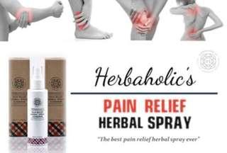Herbaholic Pain Relief Herbal Spray 20ml / 80ml