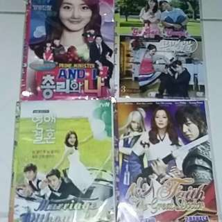 Jual dvd drama korea