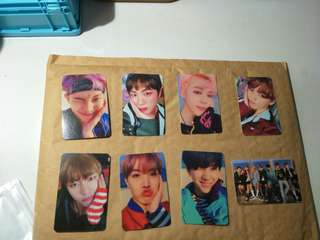 BTS YNWA PHOTOCARDS (DUPLICATE)