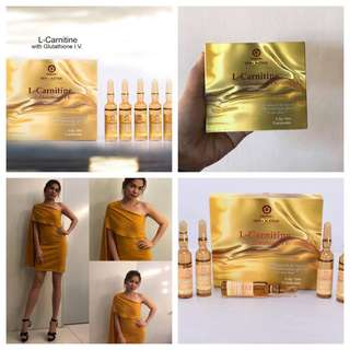 L- Carnitine with Glutathione Injectable is a 2 in 1 Power Duo (Tatio Active Dx L-Carnitine with Glutathione I.V.)